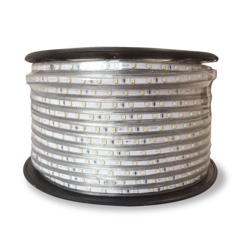Tira LED 220V SMD3528, 60Led/m, carrete 100 metros