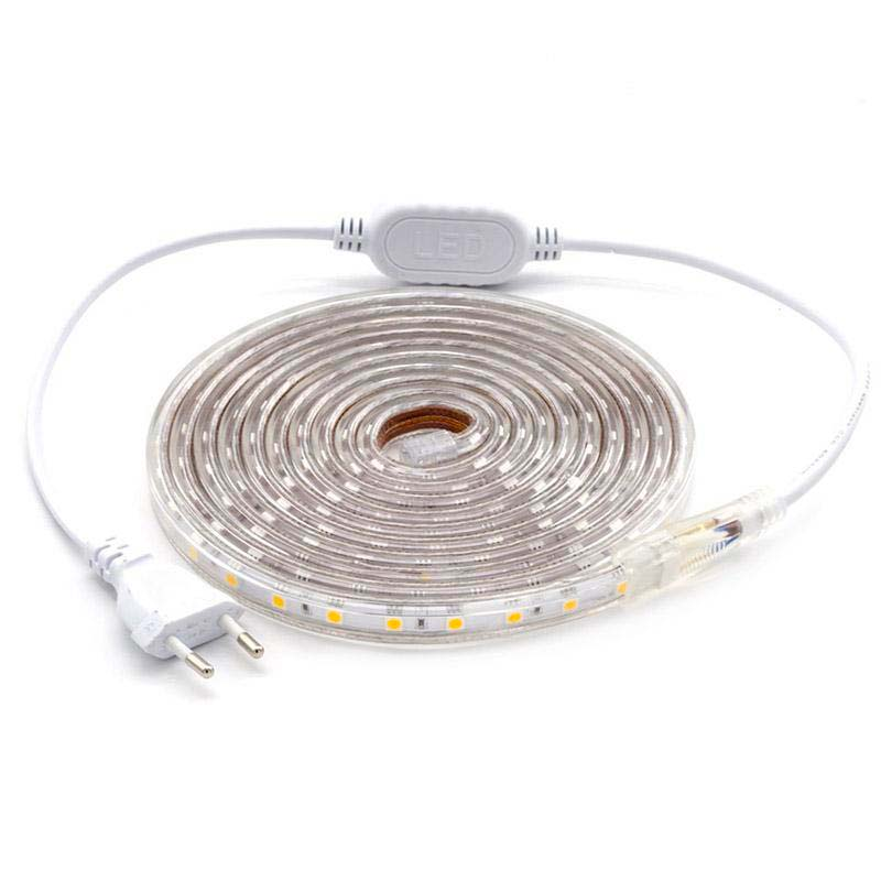 KIT Tira LED 220V SMD5050 EPISTAR, 60LED/m 3 metros