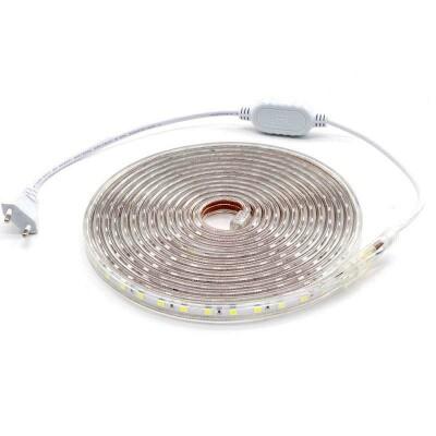 KIT Tira LED 220V SMD5050 EPISTAR, 60LED/m 4 metros, Blanco frío