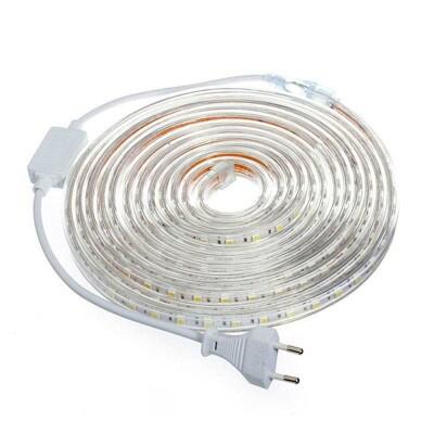 KIT Tira LED 220V SMD5050 EPISTAR, 60LED/m 5 metros, Blanco frío