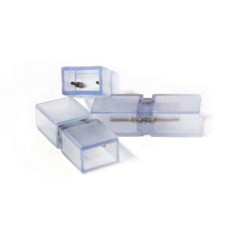 Unión intermedia tira led 220V SMD5050 / SMD5630 / SMD3014 - 8mm