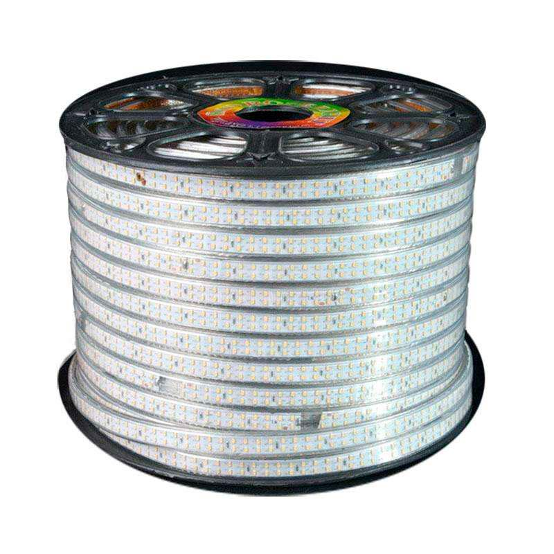 Tira LED 220V SMD3014 doble, 240Led/m, carrete 50 metros