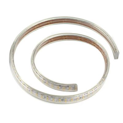 Tira LED 220V SMD3014 doble, 240Led/m, 1 metro, Blanco frío