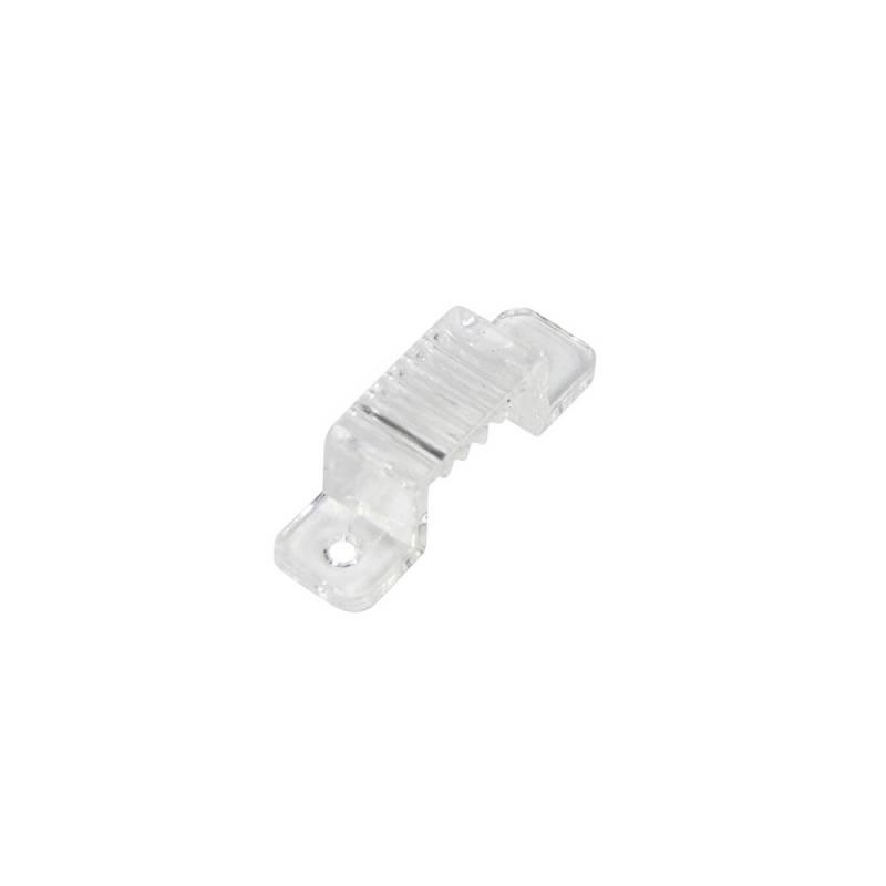 Grapa de fijación para tira led 220V - 15mm