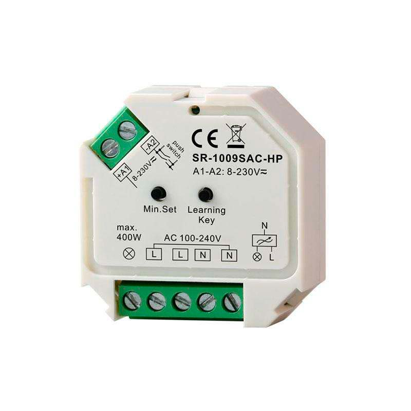 Regulador TRIAC Dimmer 220V, RF-WiFi