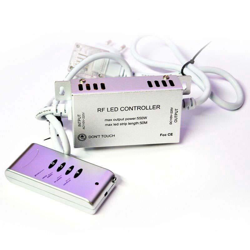 Controlador RF tira led 220V RGB 550W