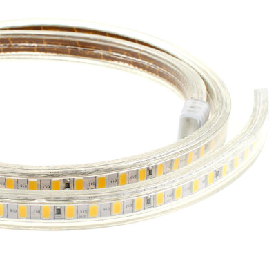 Tira LED 220V SMD5630, 120Led/m, 1 metro, Blanco cálido