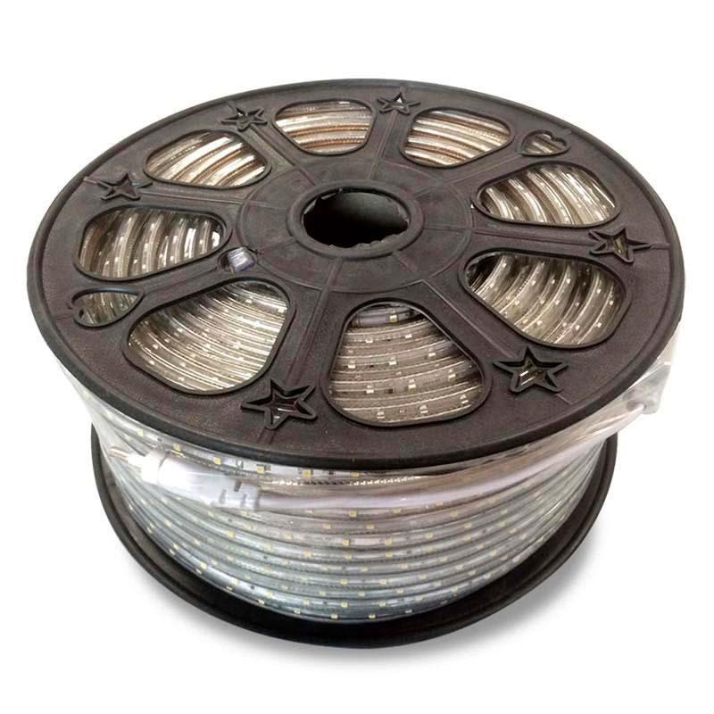 Tira LED 220V SMD2835, 60Led/m, carrete 100 metros, Blanco frío