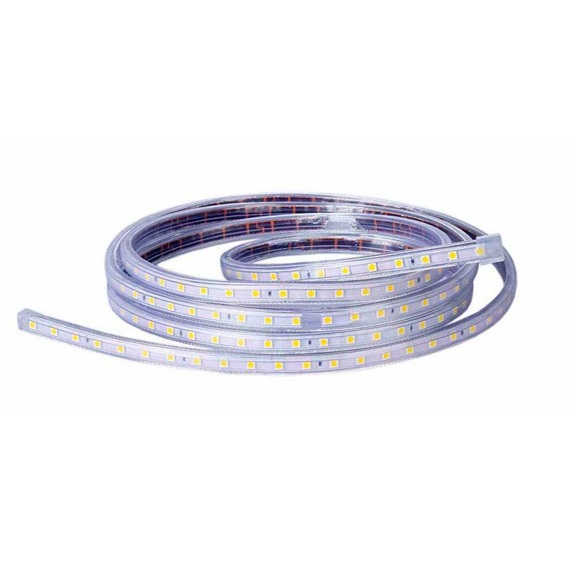 Tira LED 220V SMD2835, 60Led/m, carrete 1 metro, Blanco cálido