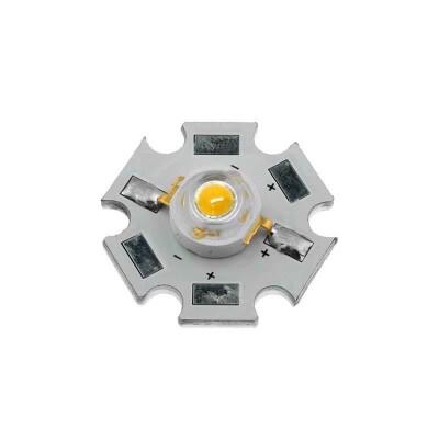 Chip led High Power Bridgelux 1x3W, Blanco frío