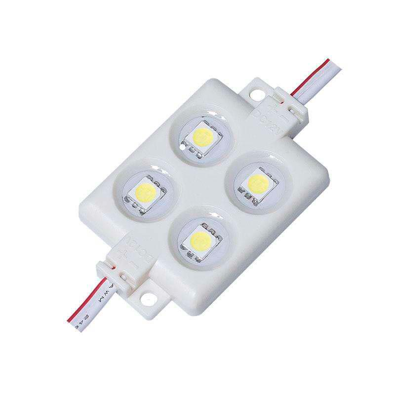 Módulo Led ABS Monocolor, 4xSMD5050, 1,44W