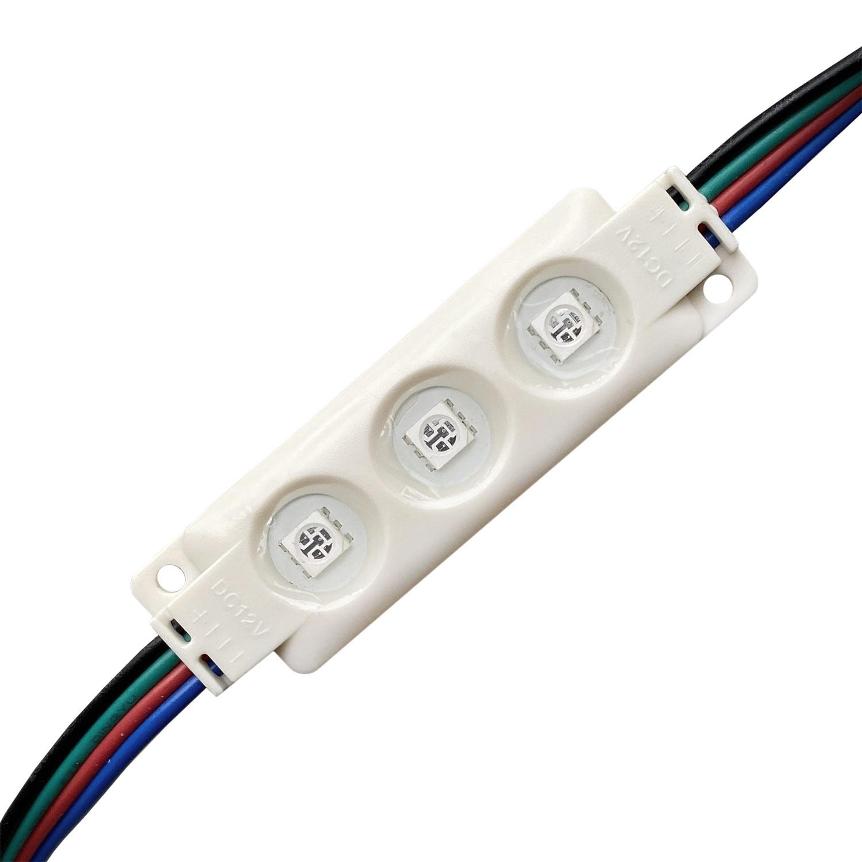 Módulo Led RGB 3xSMD5050,  0,72W