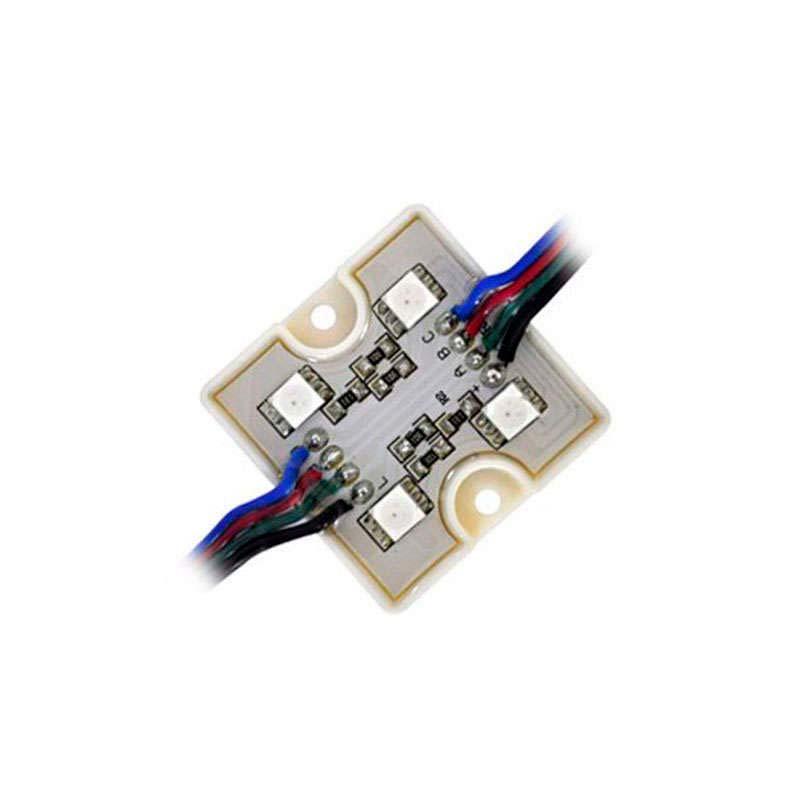 Módulo Led  RGB 4xSMD5050, 1,44W