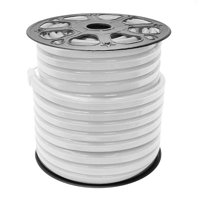 Led NEON Flex, 220V, 14x26mm, blanco, 0,8 metro