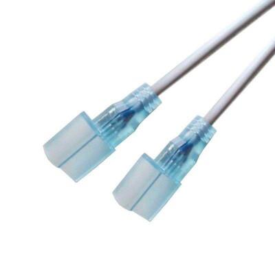 Conexión cable NEON RGB 2 conectores