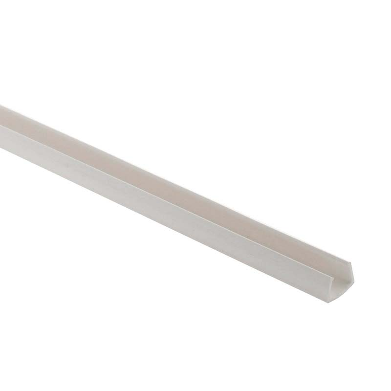 Carril PVC branco Led NEON 1m, 9x18mm