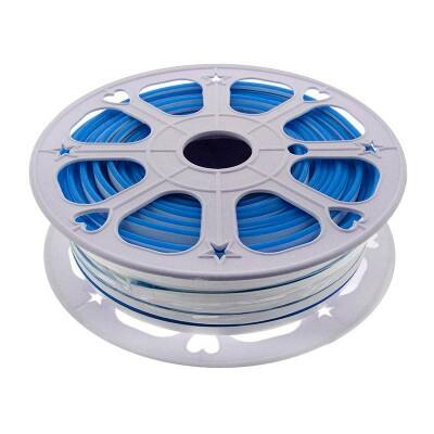 Led NEON Silicona Monocolor, DC12V, 6x12mm, 1 metro, Azul
