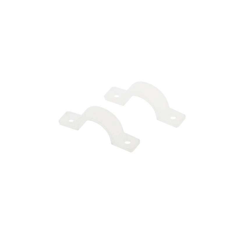 Clip de fijación NEON silicona 12x7mm