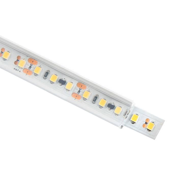 Tubo de silicona para tiras LED, 5x13mm, 1 metro
