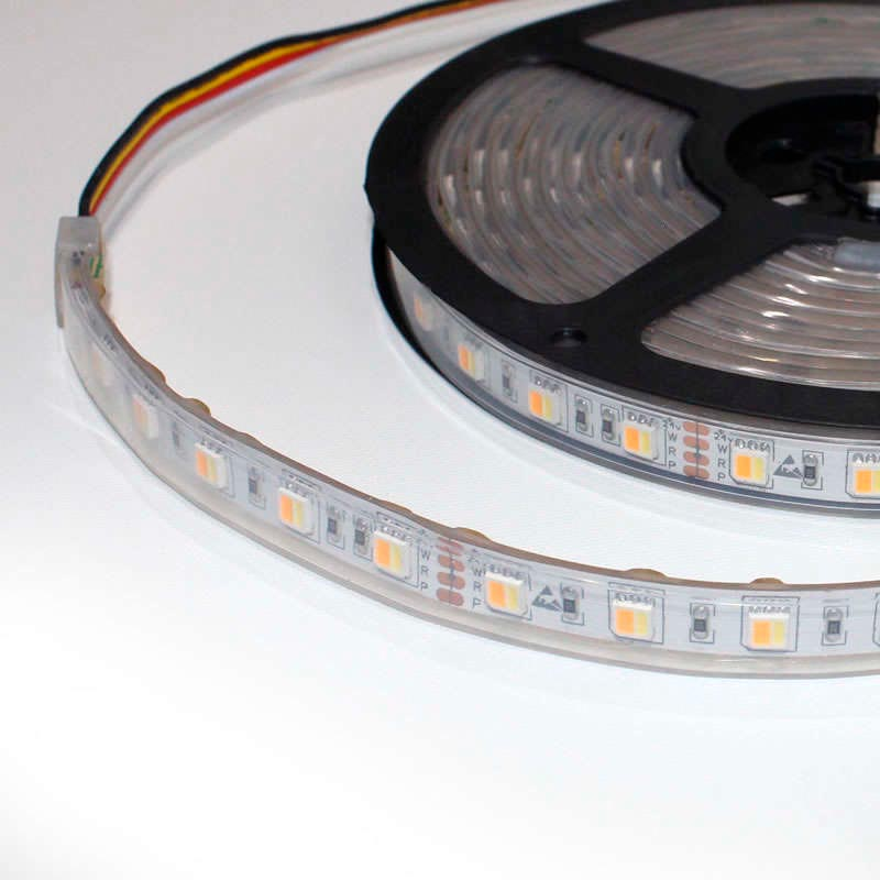 Tira LED FOOD Tricolor SMD5050, DC12V, 5m (60 Led/m) - IP67