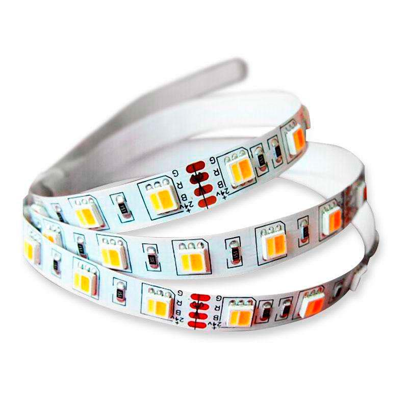 Tira LED FOOD Tricolor SMD5050, DC24V, 5m (60 Led/m) - IP20
