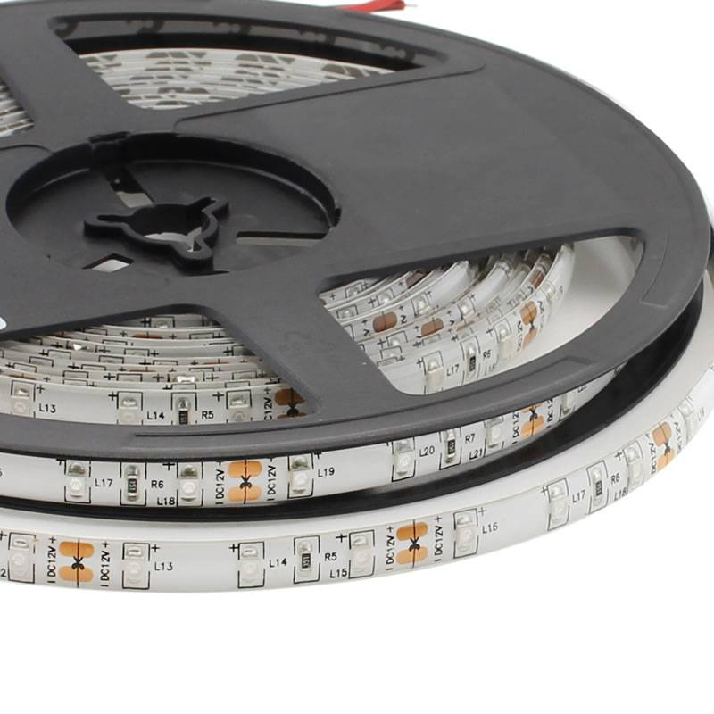Tira LED UV, Ultravioleta SMD3528, DC12V, 5m (60 Led/m) - IP65