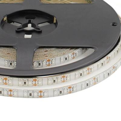 Tira LED UV Ultravioleta SMD3528, DC12V, 5m (120 Led/m) - IP65, Luz ultravioleta