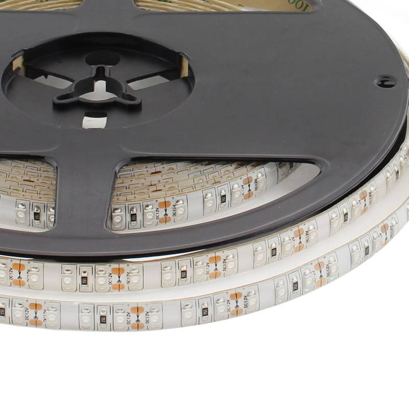 Tira LED UV Ultravioleta SMD3528, DC12V, 5m (120 Led/m) - IP65