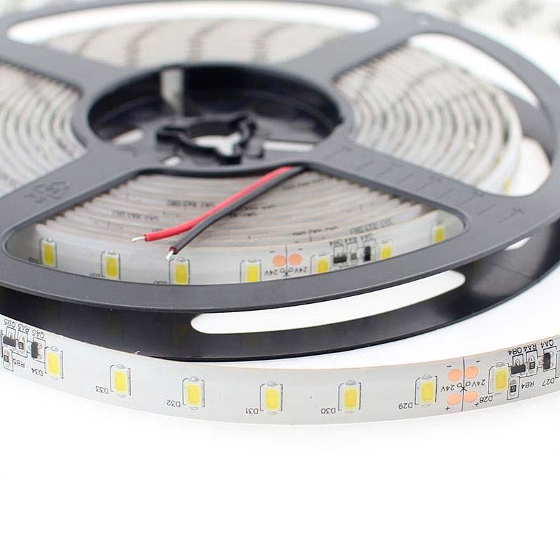 Tira LED SMD5630, DC24V CC, 5m (70 Led/m) - Sensor Temperatura - IP65