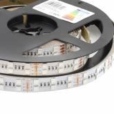 Fita LED EPISTAR SMD5050, RGB, DC24V, 5m (120 Led/m 2 filas) - IP20