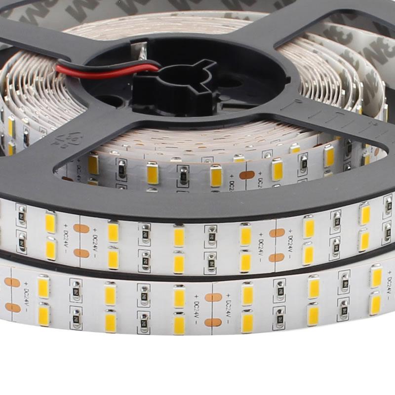 Tira LED SMD5630, ChipLed Samsung, DC24V, 5m (120 Led/m 2 filas) - IP20