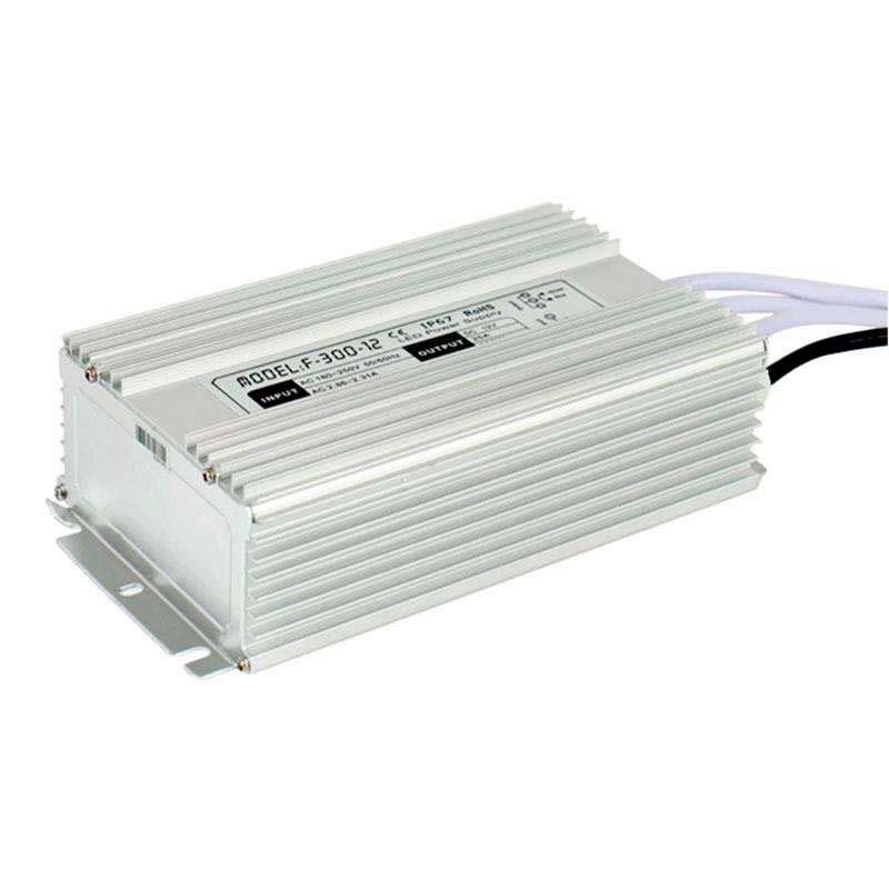 Fuente de alimentación IP67, DC12V/300W/25A