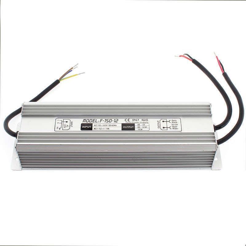 Fuente de alimentación IP67, DC12V/150W/12,5A