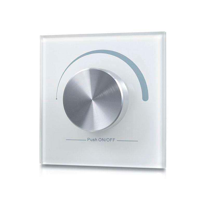 Mando LB2836 monocolor RF, Ruleta pared, blanco