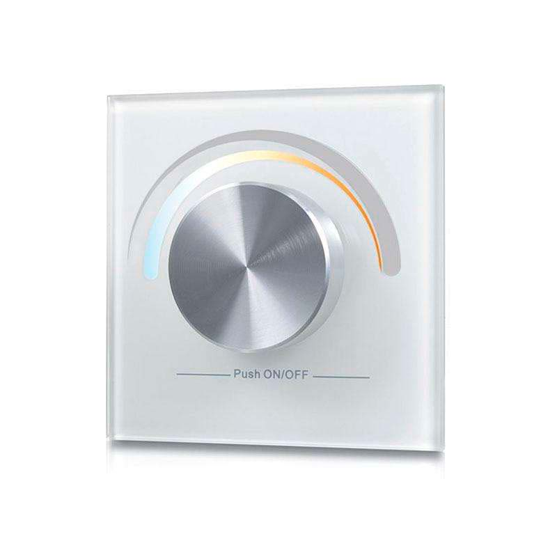Mando LB2836 DUAL RF, Ruleta pared, blanco