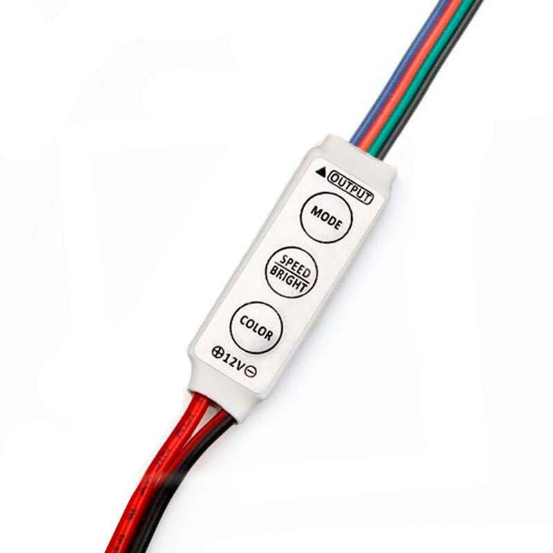 Controlador Mini fita led RGB