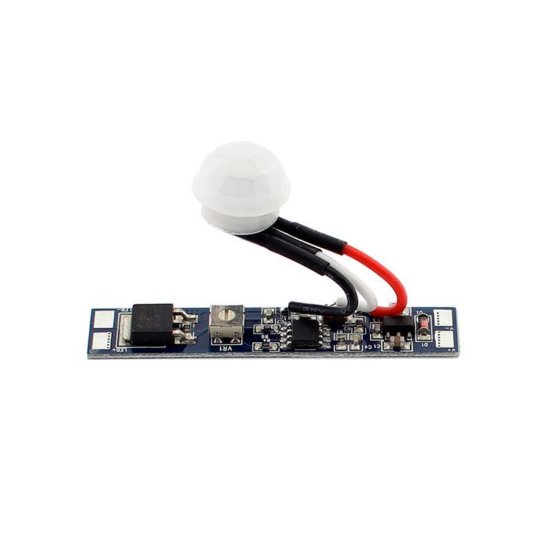 Sensor PIR de movimento RAIL ajustável