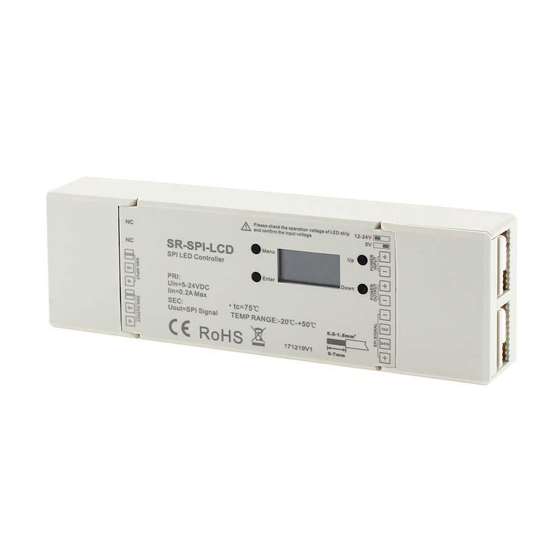 Controlador SPI 12-36V, digital IC Led