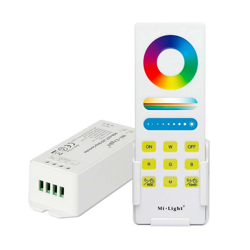 Kit Controlador RGB, 15A + comando táctil RF