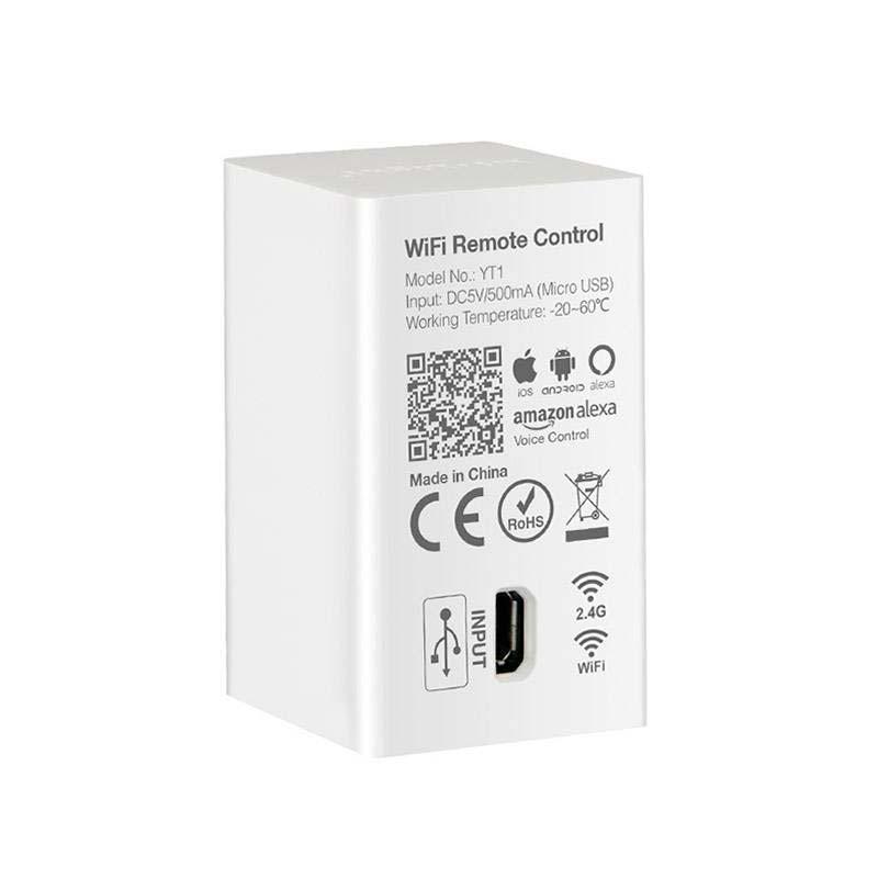 WiFi Remote, WiFi APP, Alexa Voice Control