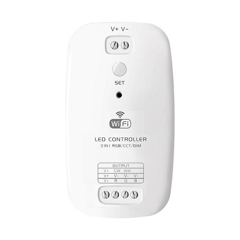 Controlador Open RGB/CCT/DIM, WiFi / Bluetooth APP, Alexa Voice Control