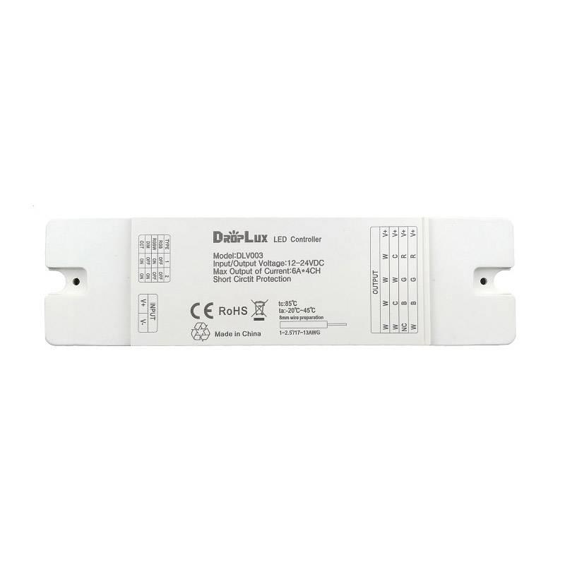 Controlador 4 en 1, 4x6A 4Z  (MONO, CCT, RGB, RGBW)