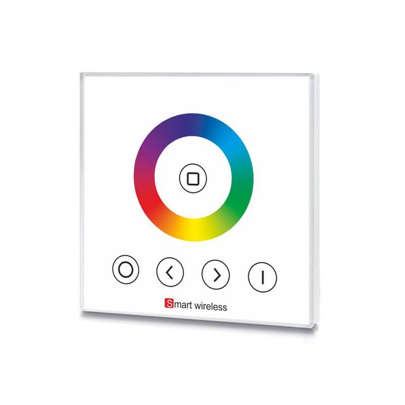 Mando RGB táctil empotrable
