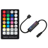 Controlador RF Mini fita LED RGBW + comando