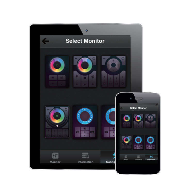 Controlador WiFi - RGB+CCT