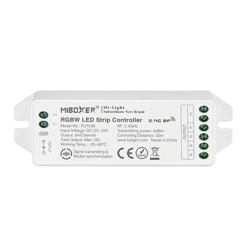 Controlador FUT038 - RGBW 12A - RF