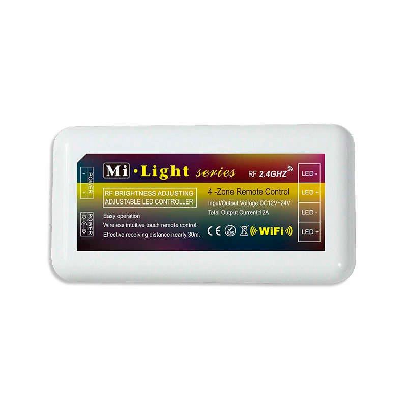 Monocolor RF Contrôleur 4 secteurs + Télécommande