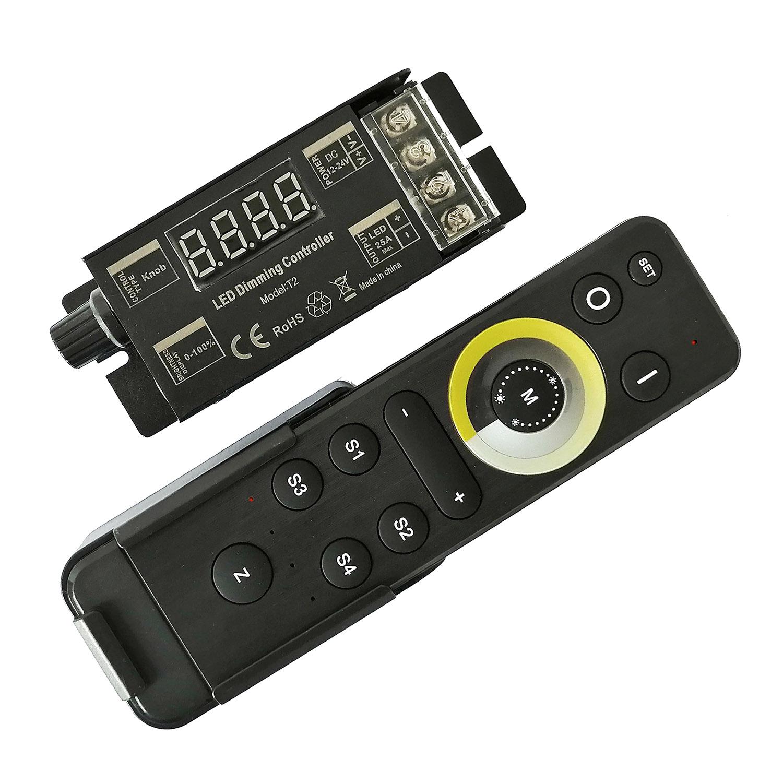 Set Controlador 25A + comando a distancia  4Z RF