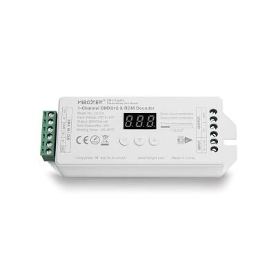Decoder DMX512-RDM, Mono, 20A, 2.4Ghz RF