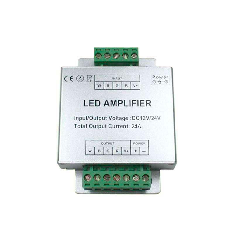 Amplificador para tira LED RGBW